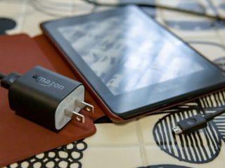 写真:Kindle Paperwhiteと一緒に購入したもの