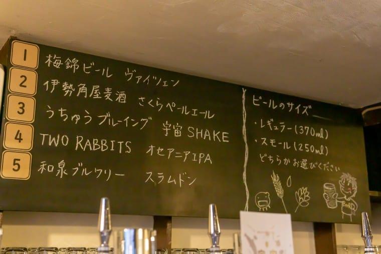 写真:モヤモヤベースの黒板