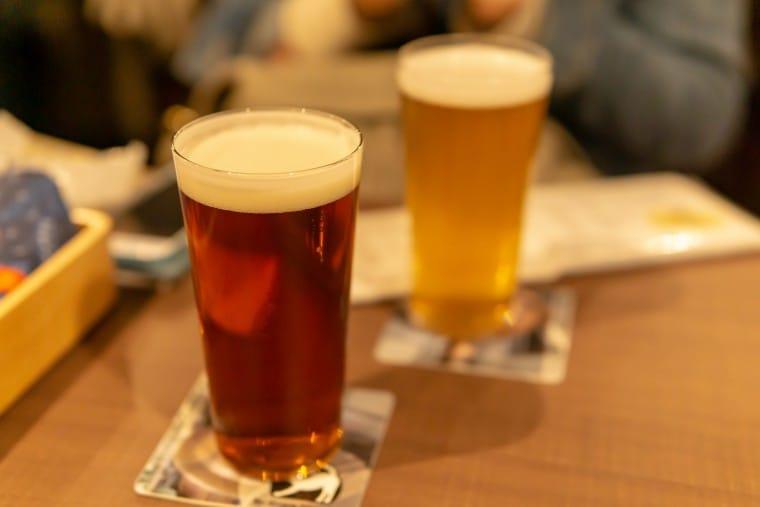 写真:ビアパブ・ひららのビール