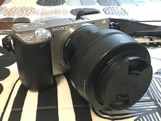 写真:sonyα6000にsigmaのレンズを装着