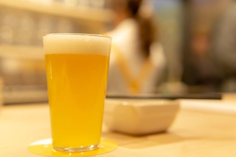 写真:ビアバー・ひららのビール