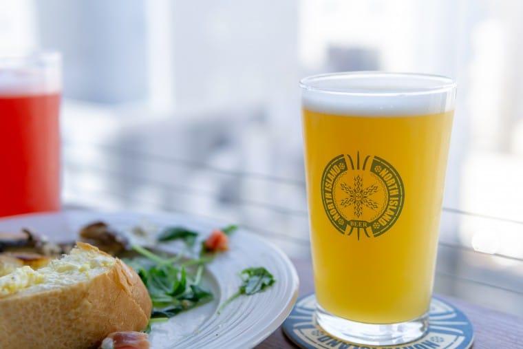 写真:Beer Bar NORTH ISLANDでの昼飲み