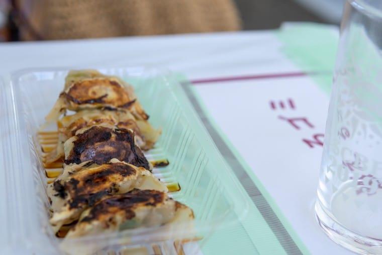 写真:餃子と麺 いせのじょうの餃子