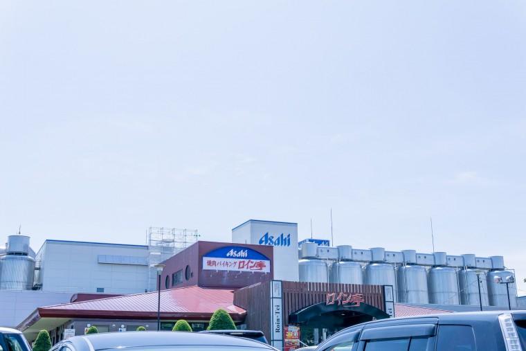 写真:アサヒビール北海道工場隣のレストラン