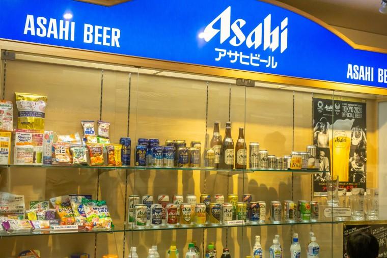 写真:アサヒビールの製品ラインナップ