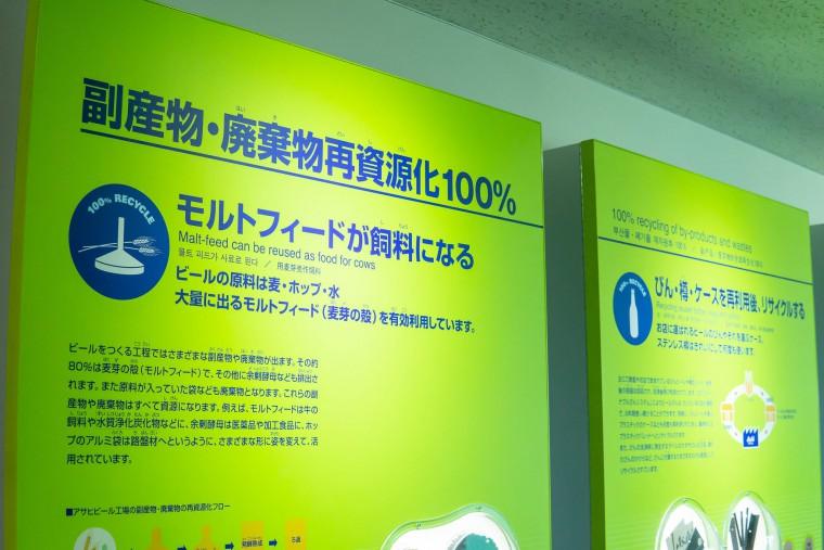 写真:副産物・廃棄物再資源化100%