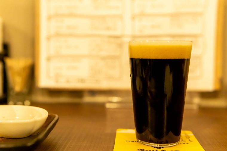 写真:澄川麦酒のインペリアルスタウト