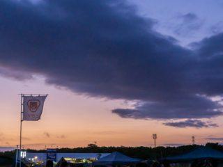 写真:RSR2019の夜明け
