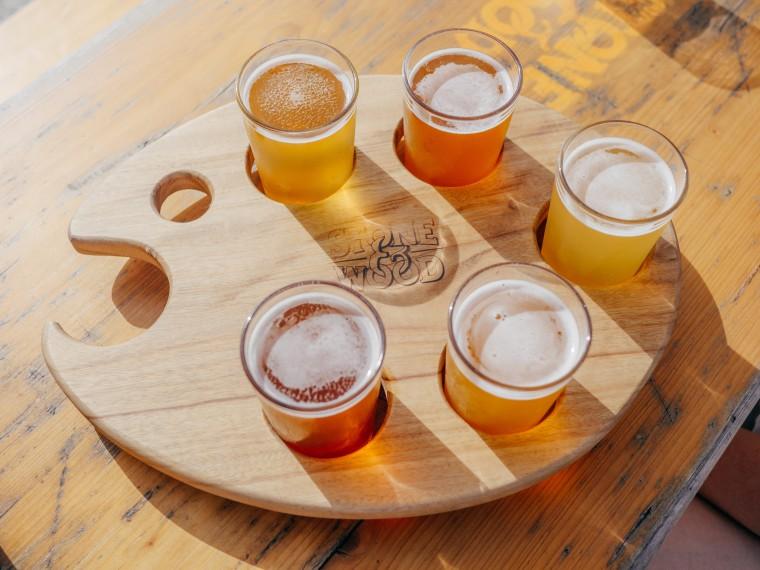 写真:いろいろなビール