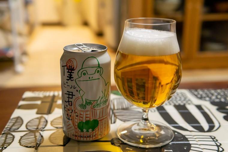 写真:僕ビール、君ビール。
