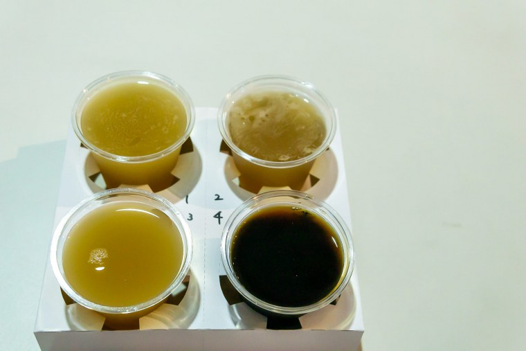 写真:JAPAN BREWERS CUP 2020の飲み比べセット