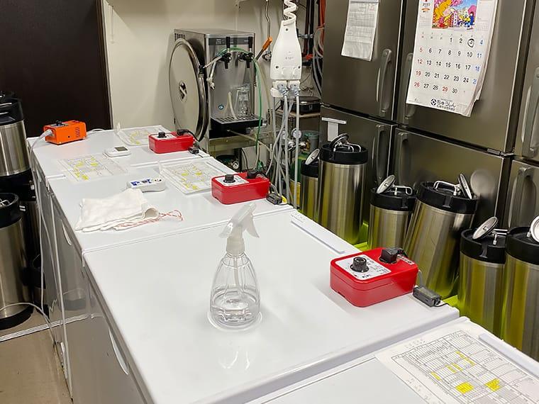 写真:澄川麦酒醸造所の設備