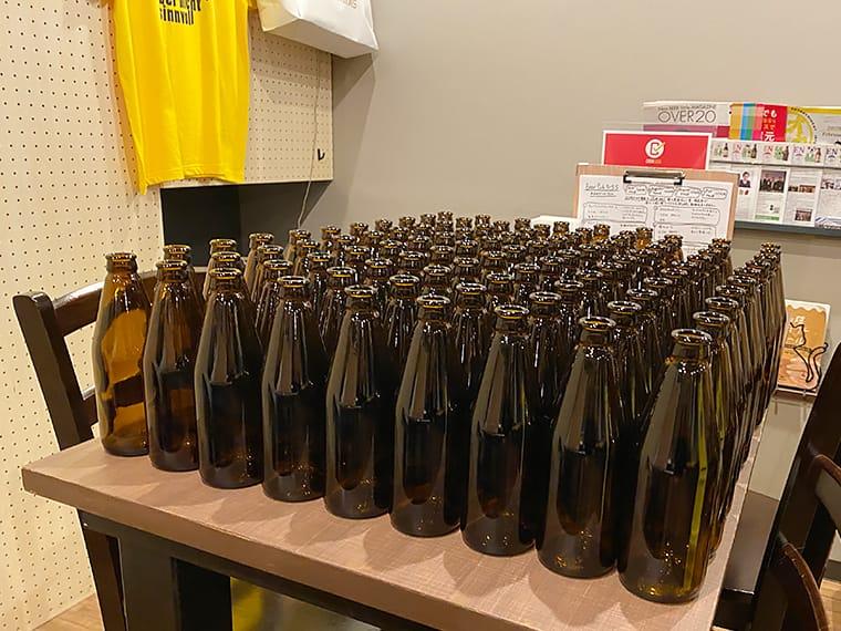 写真:澄川麦酒のボトル