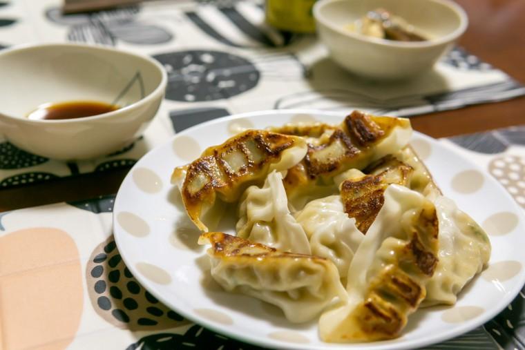 写真:焼き餃子