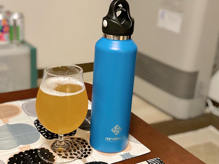 写真:レボマックス2とビール