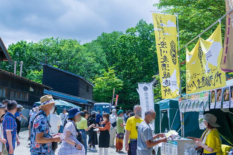 写真:紅櫻リカーフェスティバル2020の様子