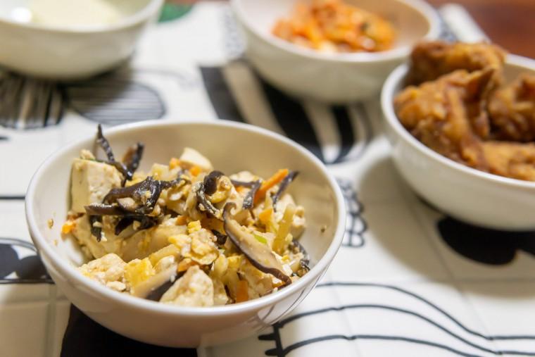写真:炒り豆腐