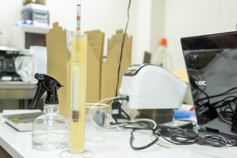 写真:澄川麦酒醸造所 西岡工場の醸造部屋