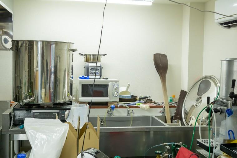写真:澄川麦酒醸造所 西岡工場の内観