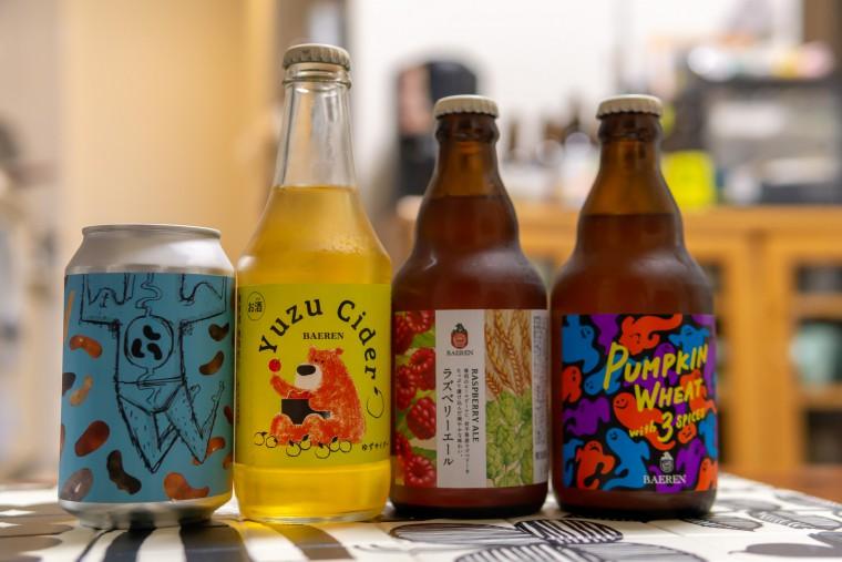 写真:酒のたなかで購入したビール