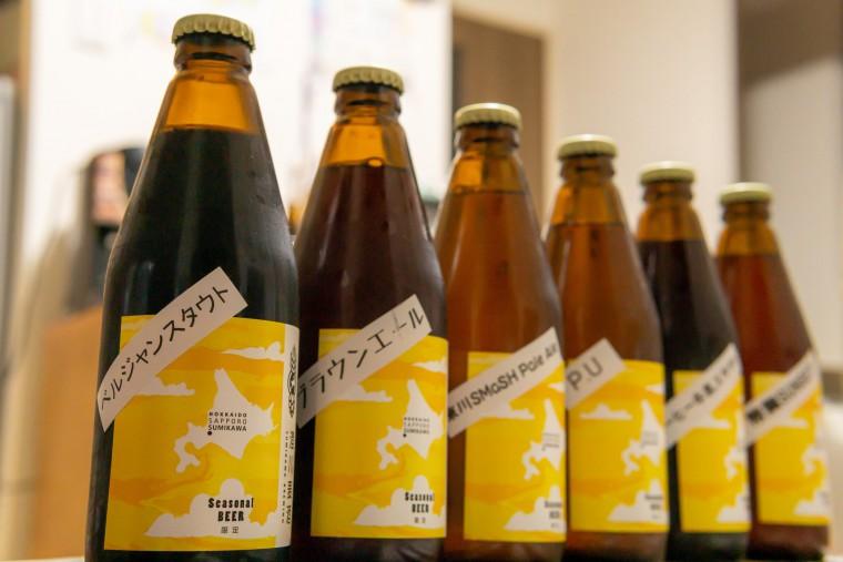 写真:澄川麦酒のボトルビール