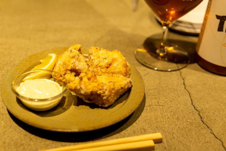 写真:醤油麹のザンギ