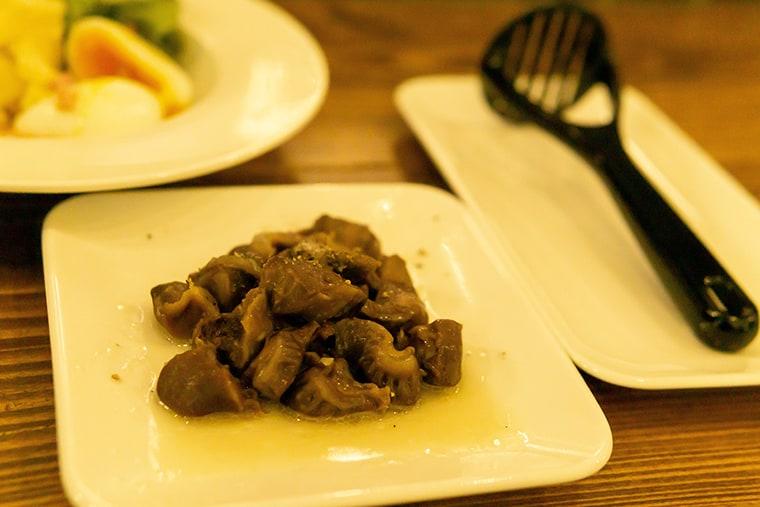 写真:砂肝コンフィ